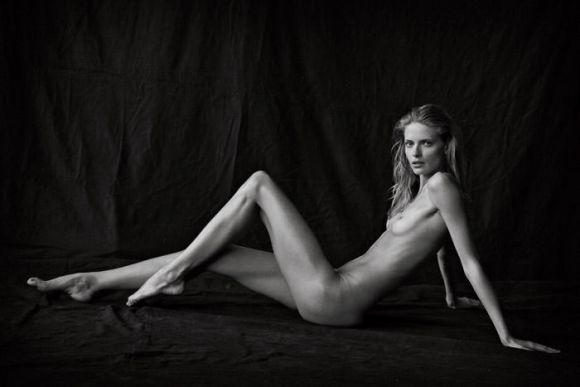Julia Stegner by Peter Lindbergh for Vogue Germany