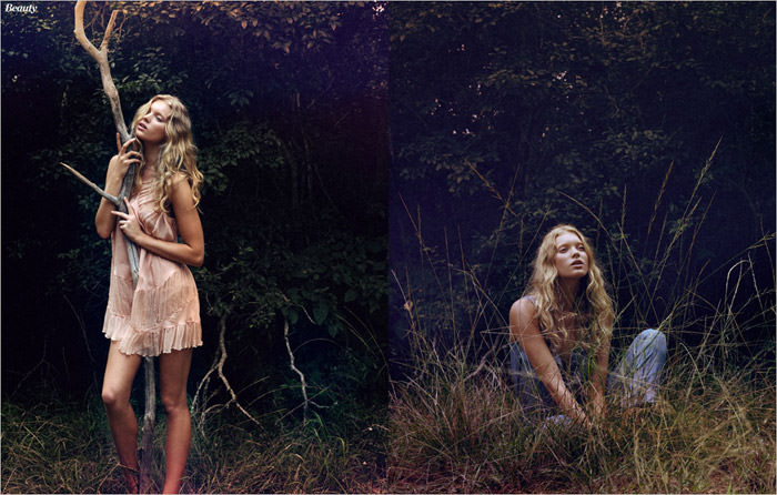 """Elsa Hosk photographed by Yu Tsai in """"The Ultimate Youthover"""" for Marie Claire España, May 2012"""