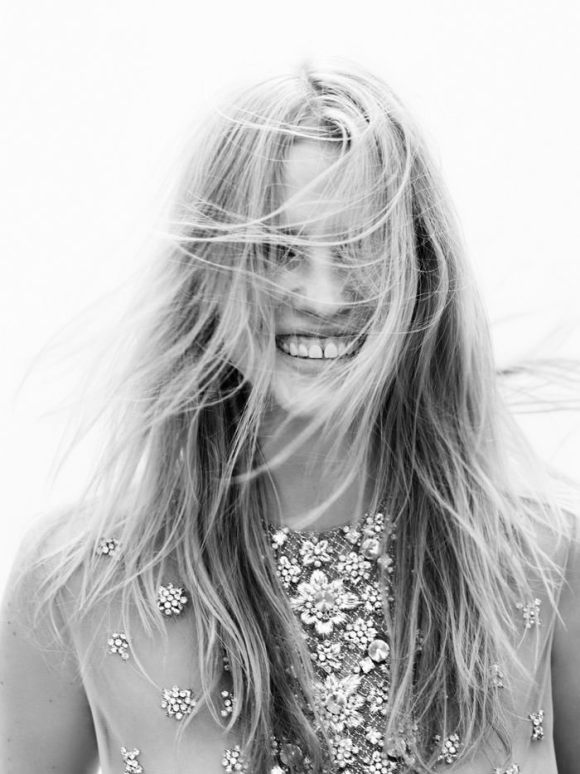 Lara Stone by Josh Olins for Vogue Netherlands