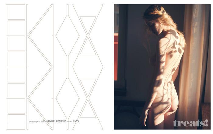 Enya Bakunova by David Bellemere for Treats! Magazine