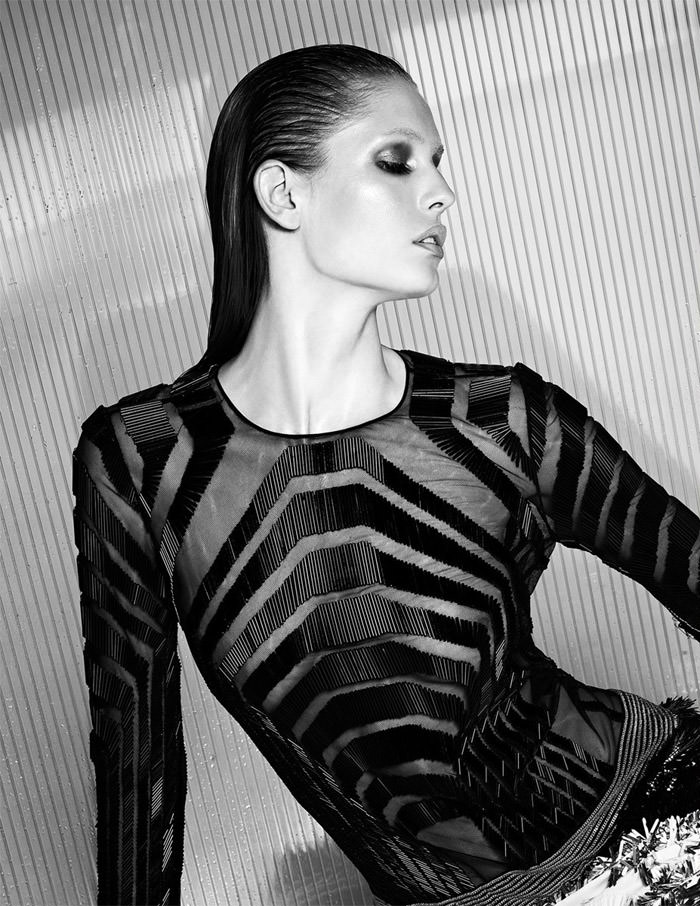 Nadja Bender by Warren du Preez and Nick Thornton Jones for Numero