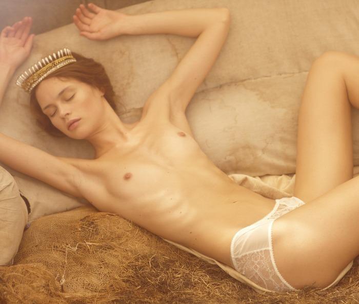 Anastasia Khodkina by David Uchitel for Gravure Magazine