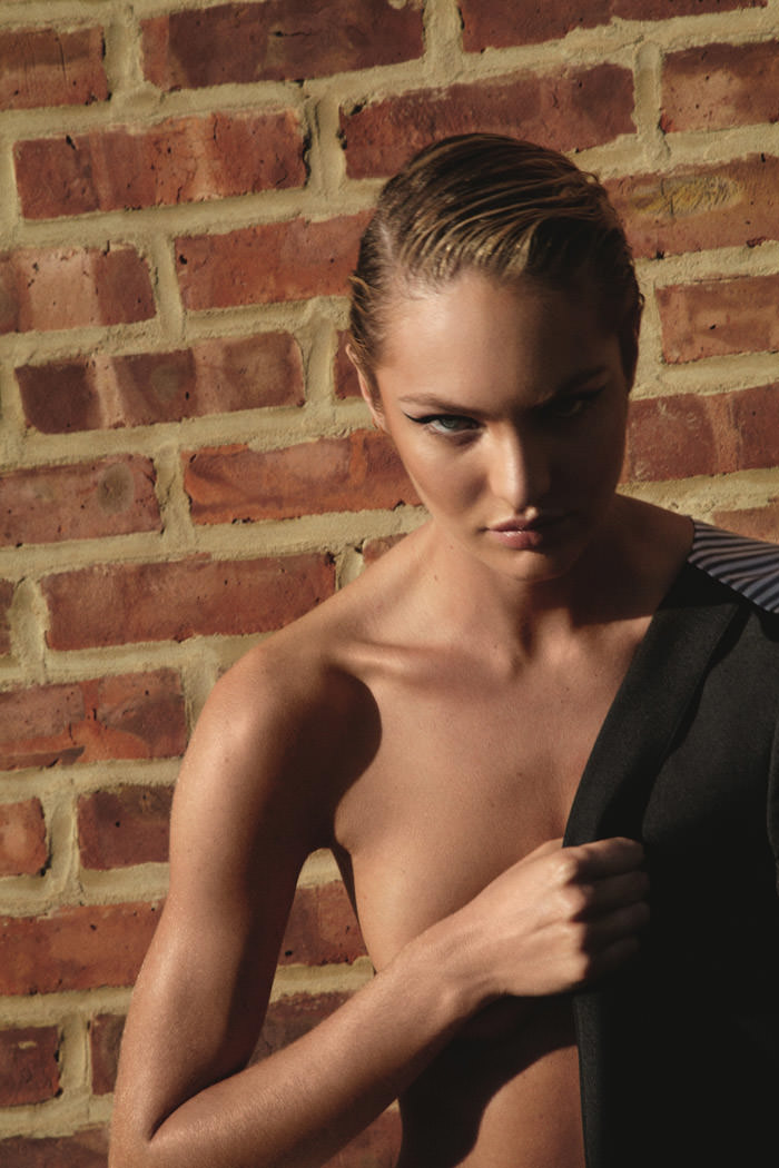 Candice Swanepoel photographed by Collier Schorr for Muse Magazine #30, Summer 2012