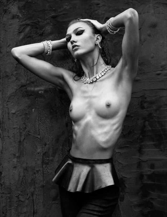 Karlie Kloss by Greg Kadel for Numero