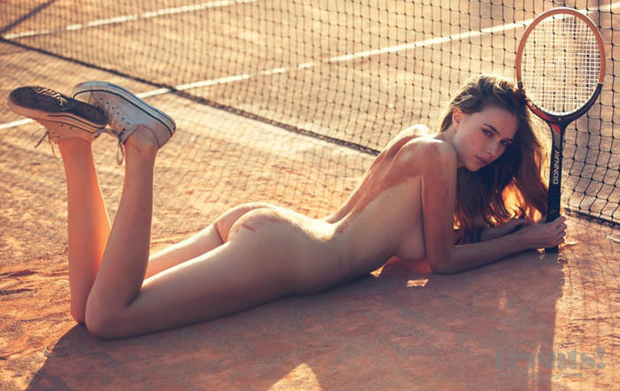 Anthea photographed by David Bellemere for Treats! Magazine #4
