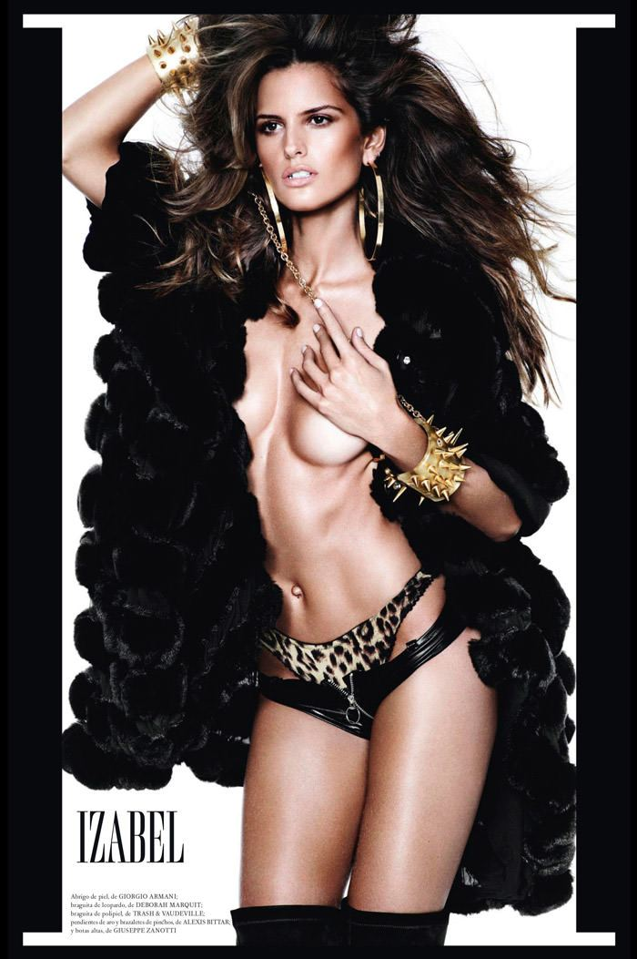 Izabel Goulart by Mario Testino for Vogue Spain