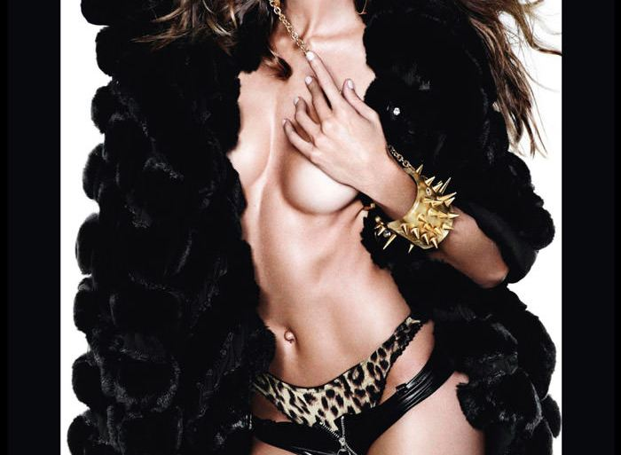 Izabel Goulart by Mario Testino for Vogue Spain