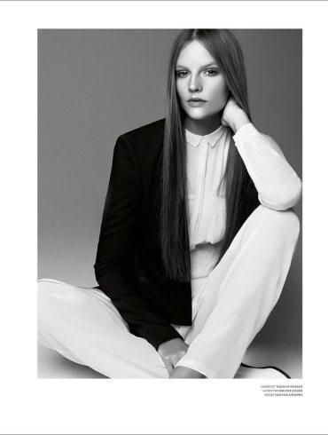 Sara Blomqvist photographed by Kai Z. Feng for Stockholm Magazine