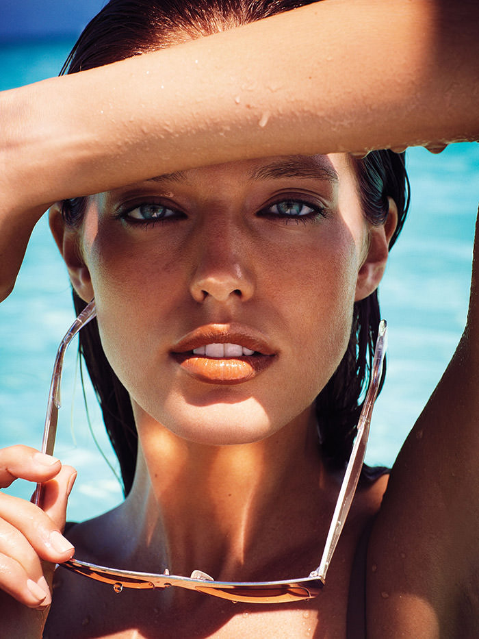 Emily DiDonato photographed by Alexi Lubomirski for Allure Magazine, January 2013