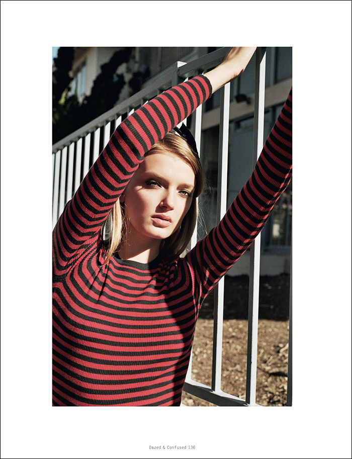Lily Donaldson by Max Farago for Dazed & Confused