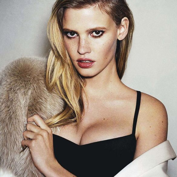 Lara Stone by Angelo Pennetta for Vogue Australia