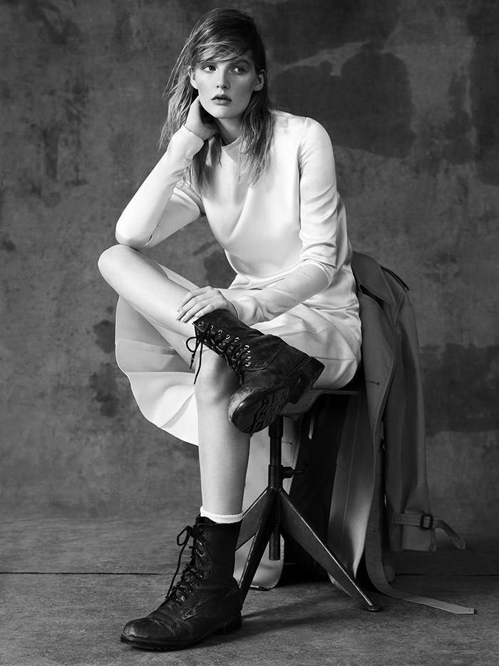 Sara Blomqvist photographed by Ben Weller for Muse Magazine #33, Spring 2013