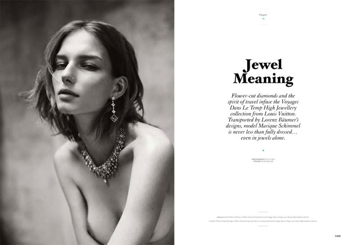 Marique Schimmel by Nick Dorey for Twin Magazine