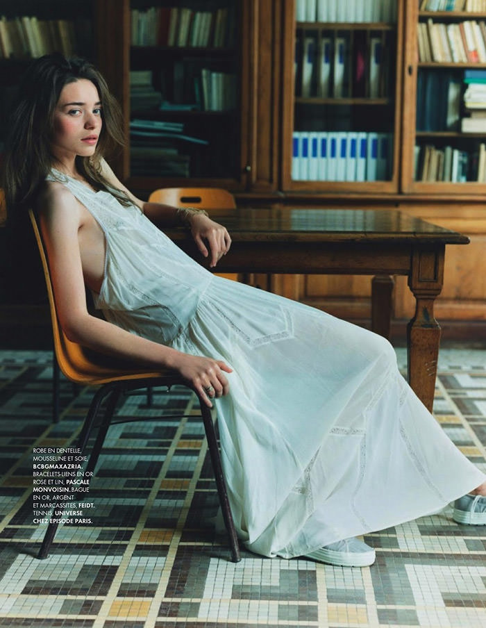 Like A Virgin by Clare Shilland for Elle France