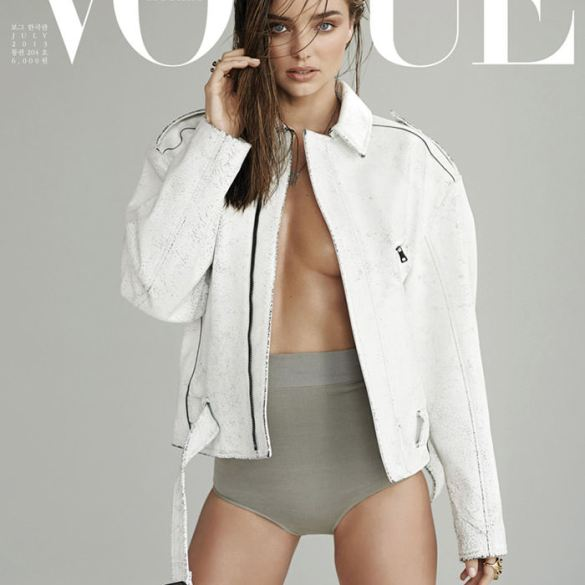 Miranda Kerr by Eric Guillemain for Vogue Korea