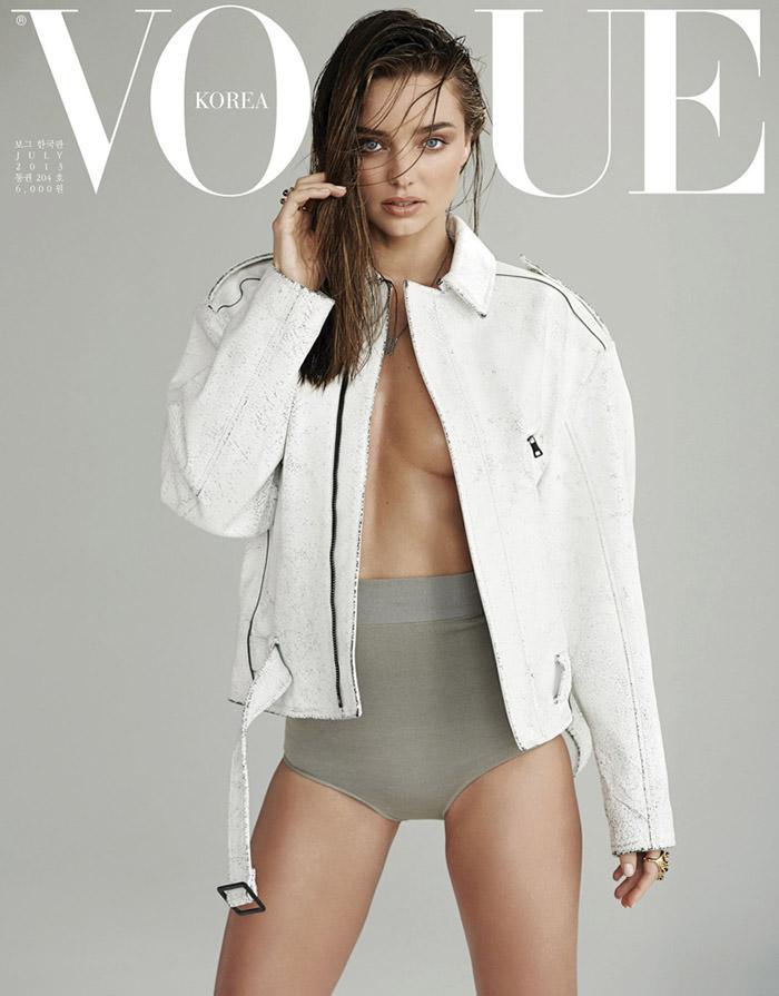 Miranda Kerr by Eric Guillemain for Vogue Korea