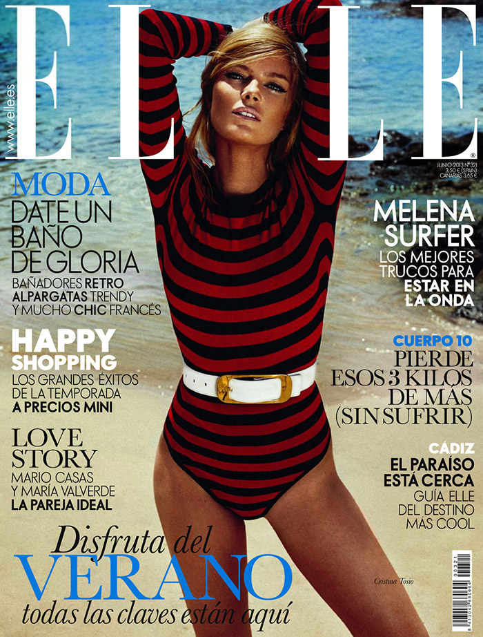 Cristina Tosio by Xavi Gordo for Elle Spain, June 2013