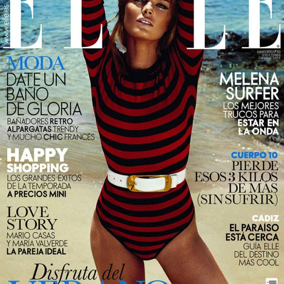 Cristina Tosio by Xavi Gordo for Elle Spain