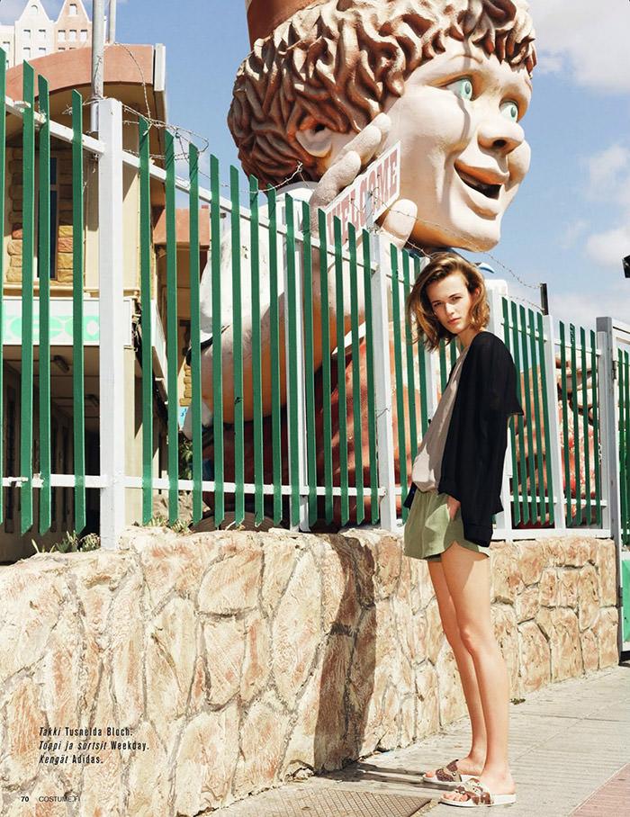 Emma Oak by Dennis Stenild for Costume Magazine