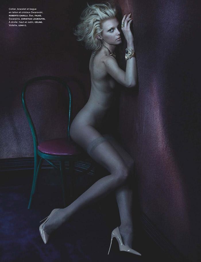 Sigrid Agren by Benjamin Lennox for Numero