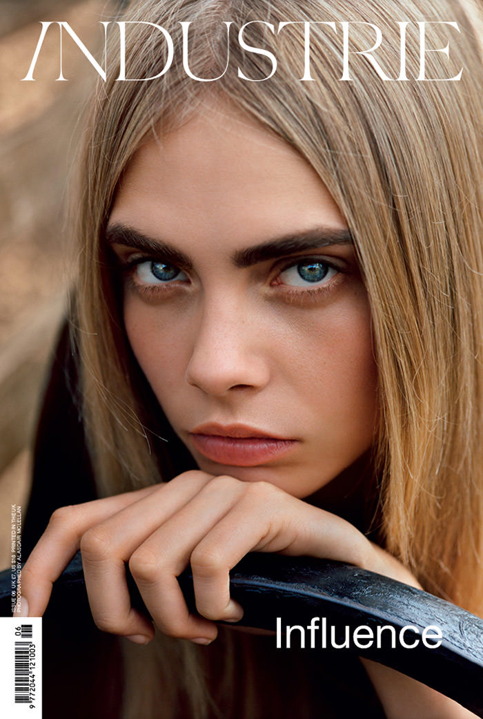 Cara Delevingne covers Industrie Magazine