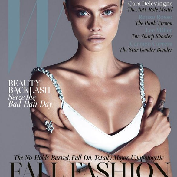 Cara Delevingne covers W Magazine 2
