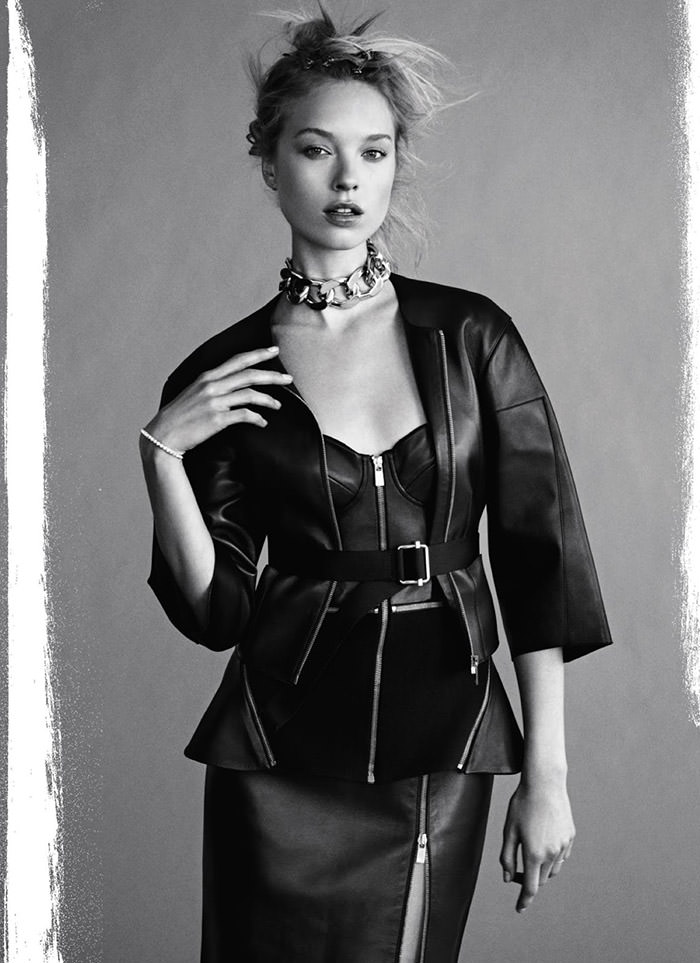 Heloise Guerin by James Macari for Marie Claire UK