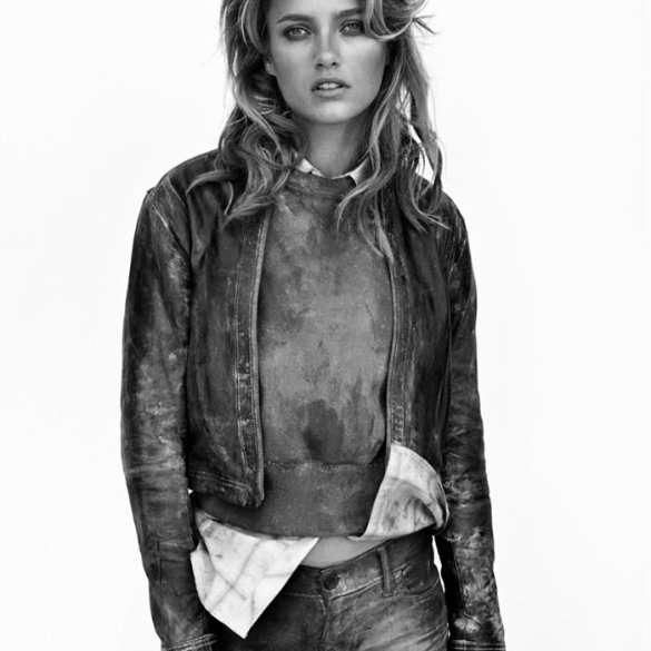 Karmen Pedaru by Mikael Jansson for True Religion