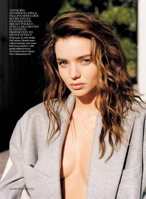 Miranda Kerr by Alasdair McLellan for Vogue UK