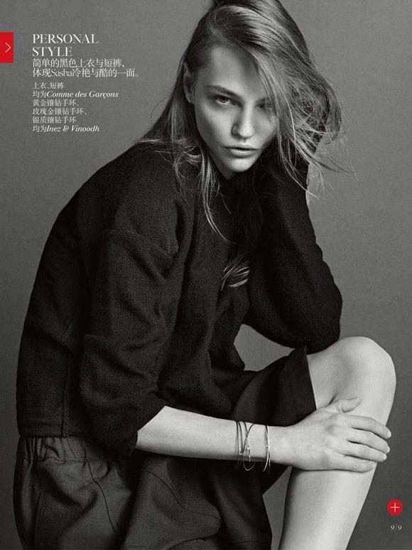 Inez and Vinoodh for Vogue China