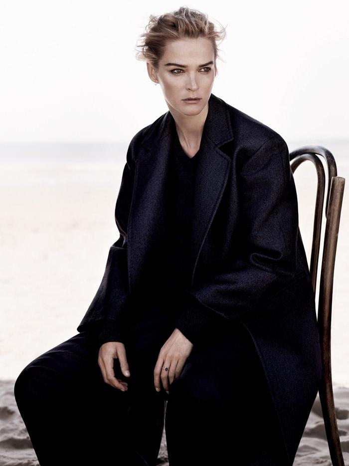 Carmen Kass by Ben Weller for Harper's Bazaar UK