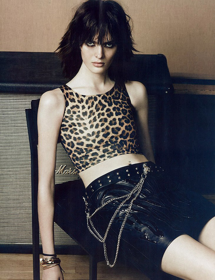 Sam Rollinson photographed by Erik Torstensson for Vogue Russia, October 2013