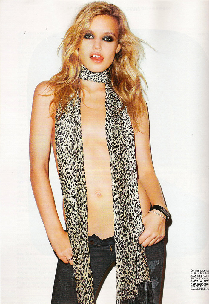 Georgia May Jagger photographed by Terry Richardson for Lui Magazine, November 2013