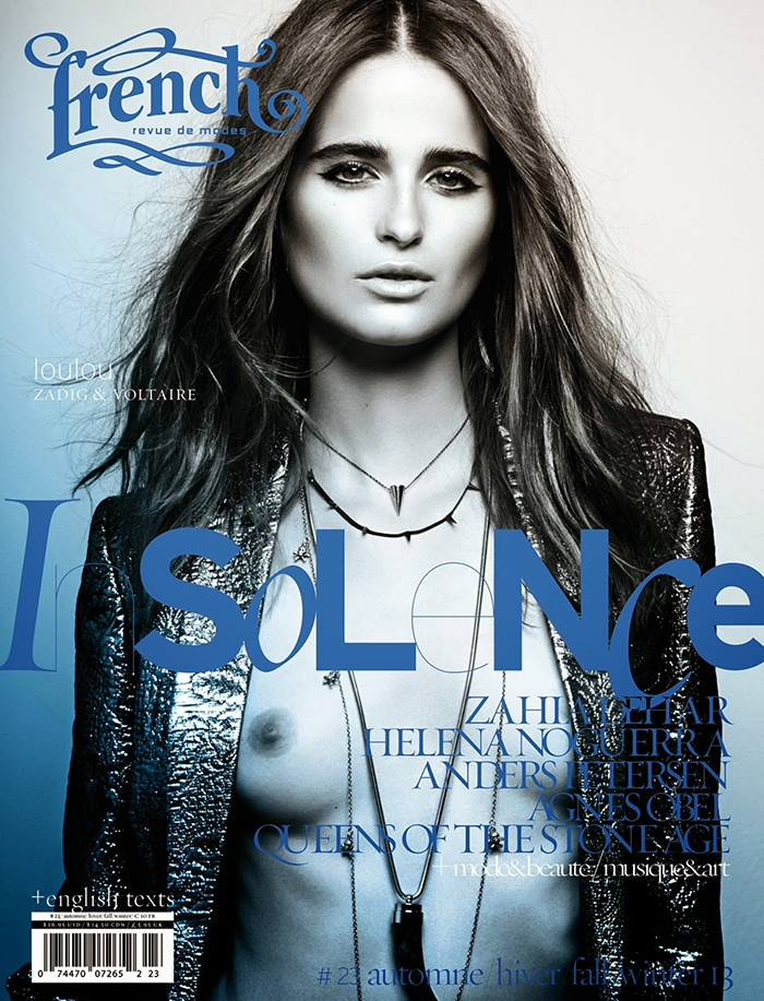 Loulou Robert covers French Revue de Modes