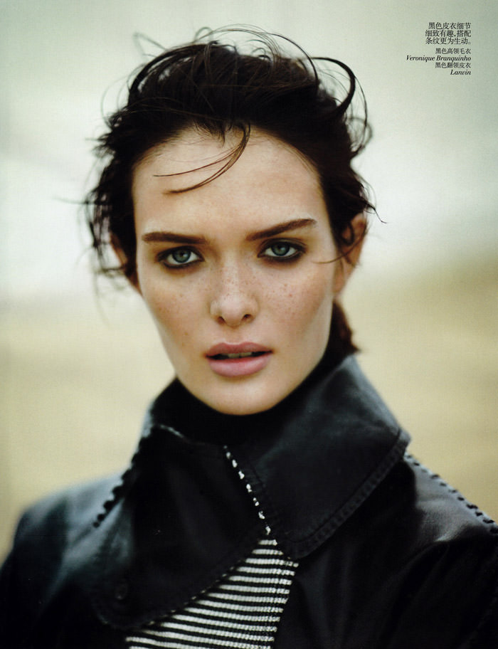 Sam Rollinson photographed by Boo George for Vogue China, November 2013
