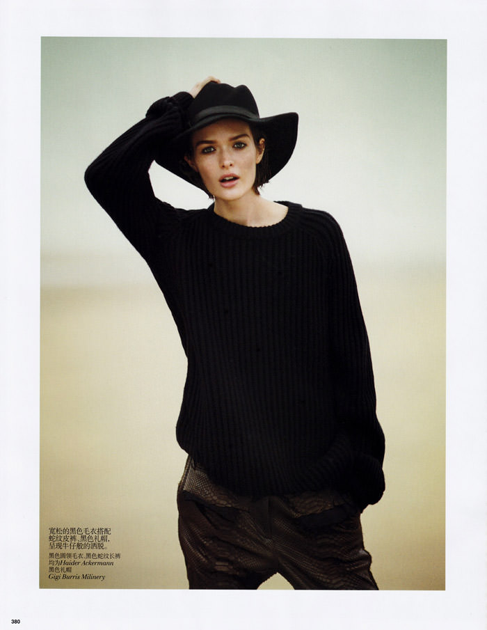 Sam Rollinson by Boo George for Vogue China