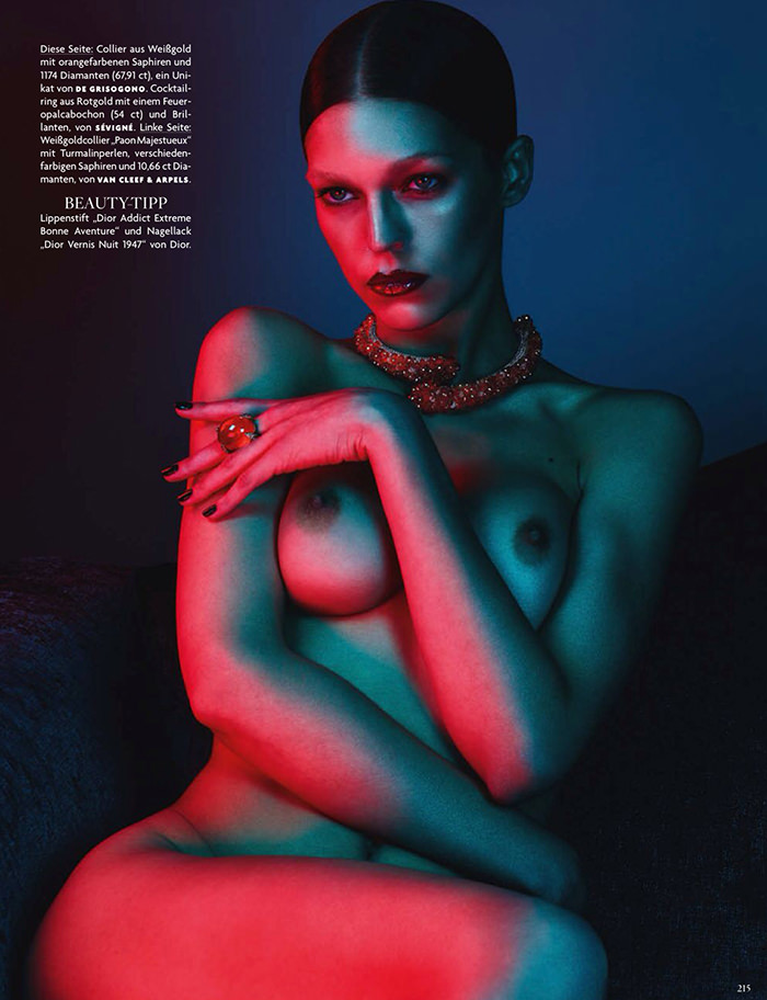 Samantha Gradoville by Ben Hassett for Vogue Germany