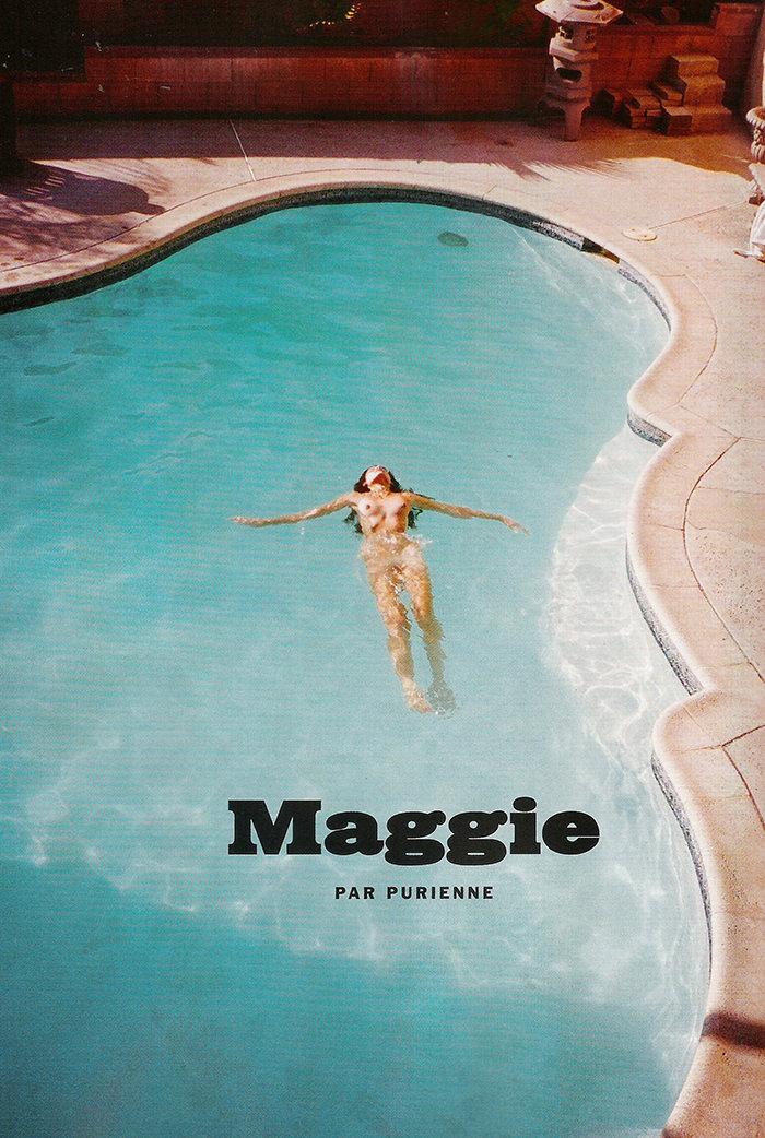 Maggie Duran by Henrik Purienne for Lui Magazine