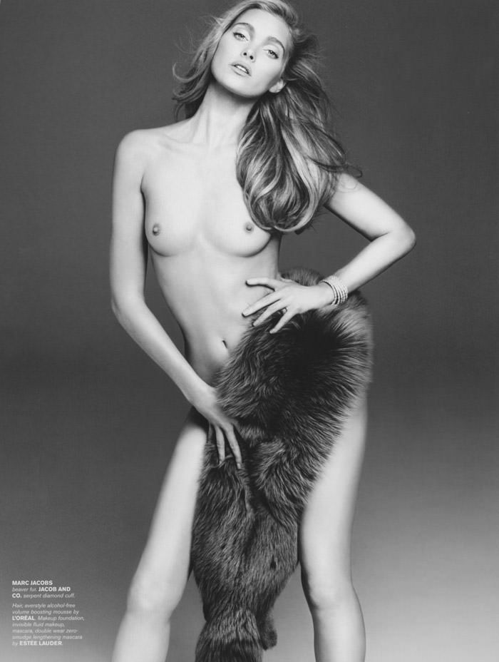Elsa Hosk photographed by Alexander Craig for 7 Hollywood Magazine, Winter 2014