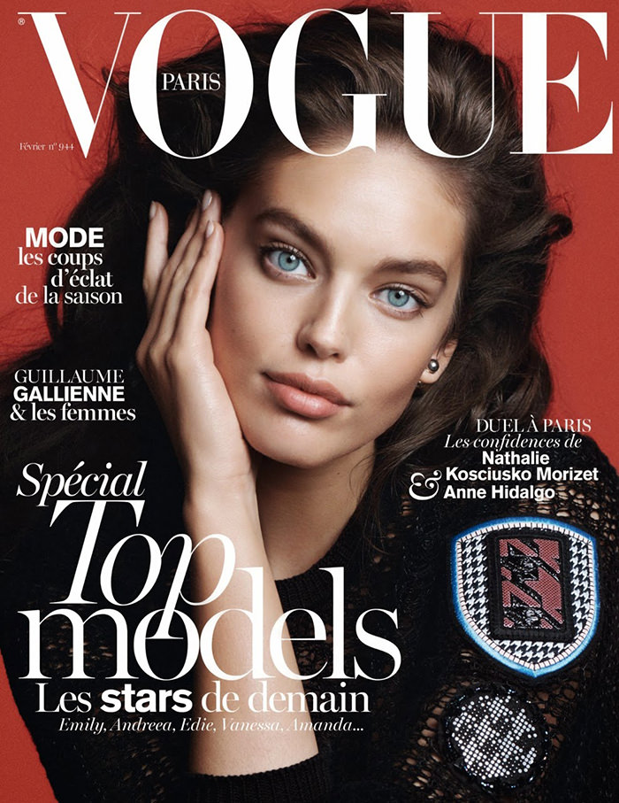 Emily DiDonato covers Vogue Paris