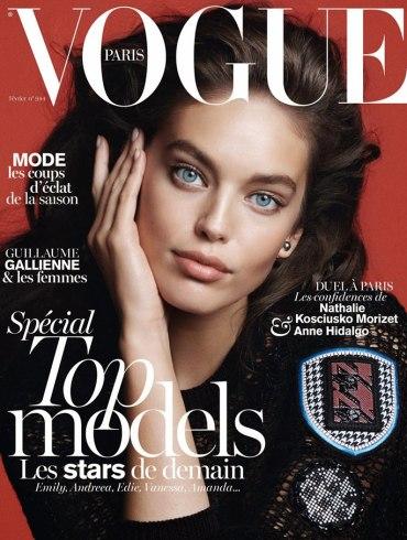 Emily DiDonato by David Sims for Vogue Paris