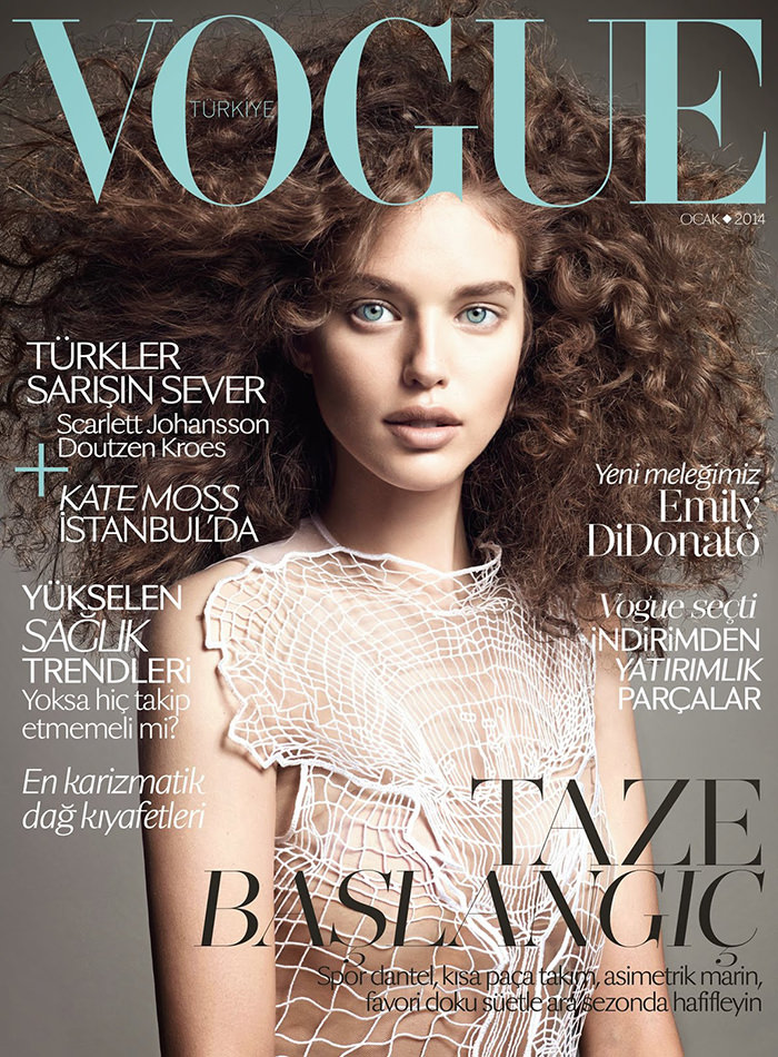 Emily DiDonato covers Vogue Turkey