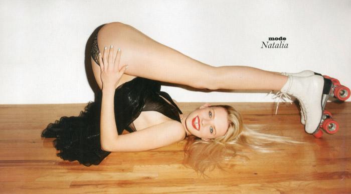 Natalia Siodmiak by Terry Richardson for Lui Magazine