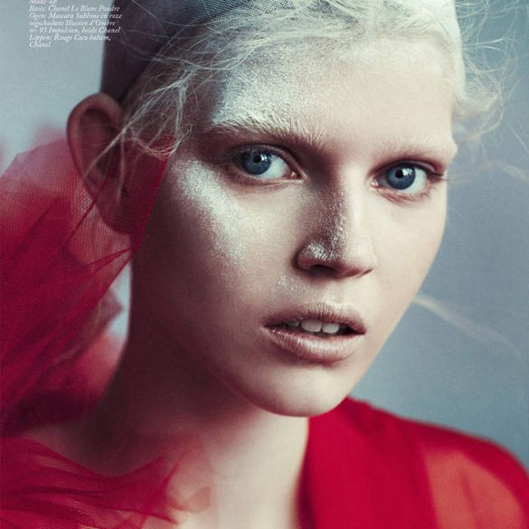 Ola Rudnicka by Boe Marion for Vogue Netherlands
