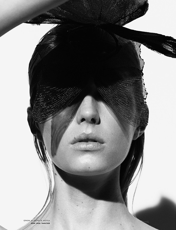Sigrid Agren photographed by Ward Ivan Rafik for Viva! Moda, Spring 2014