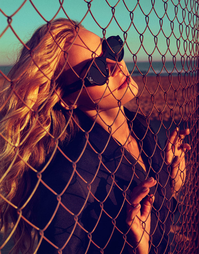 Valentina Zelyaeva by Xavi Gordo for Elle Russia