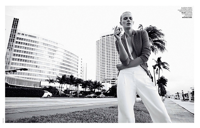 Anne Vyalitsyna by Nagi Sakai for Marie Claire Italy