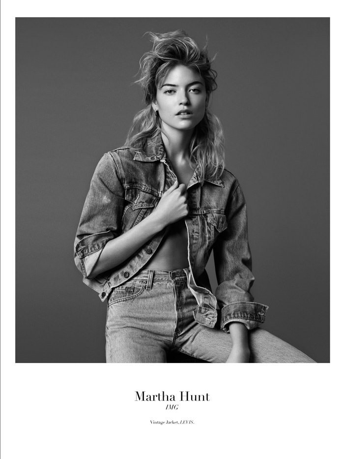 Martha Hunt by Christopher Ferguson for Stonefox Magazine