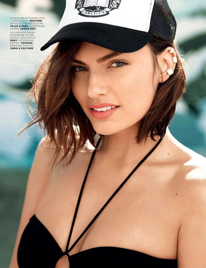 Alyssa Miller by David Mushegain for Vogue Russia