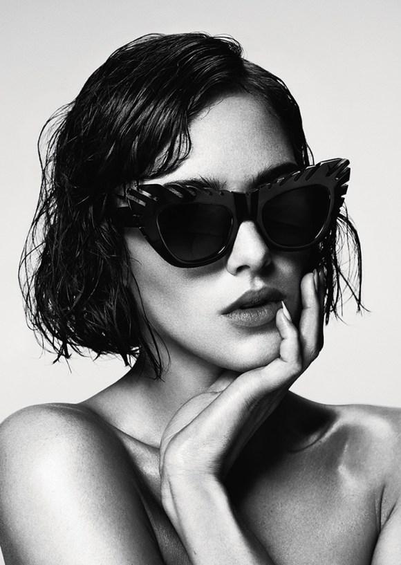 Eliza Cummings by Damon Baker for House Of Holland Eyewear